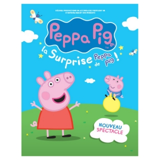 """À Gagner 72 billets pour le spectacle """" PEPPA PIG """""""