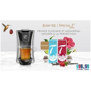 L'infusion à la perfection! 10 machines à thé + sélection de 6 thés Valeur: CHF 150.- à gagner!