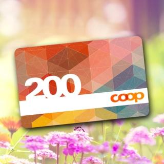 Faites le plein! Gagnez votre carte cadeau COOP d'une valeur de CHF 200.- !