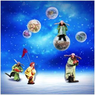"""Gagnez vos invitations pour le spectacle """"Slava's Snow Show"""" le 28 ou 30 décembre 2019 au Théâtre du Léman, Genève"""
