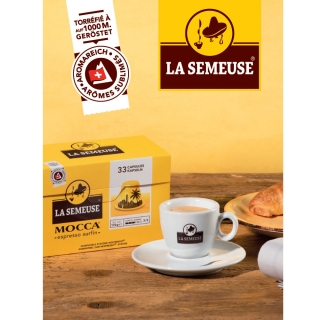 A gagner 25x 2x 33 capsules Mocca compatibles Nespresso®*