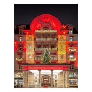 À GAGNER! 5x Une nuit pour 2 personnes dans le prestigieux LAUSANNE PALACE au centre ville de Lausanne!