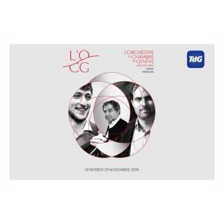 Gagnez 10x2 billets pour le concert de l'OCG, vendredi 29 novembre à 20h, au Bâtiment des Forces Motrices à Genève!