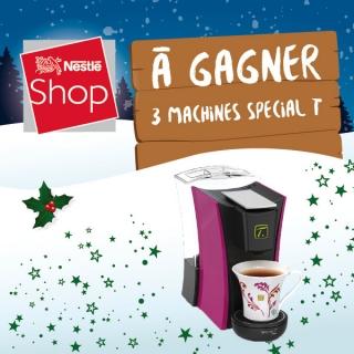 """Gagnez 3X1  machine à Thé """"Special.T"""" By Nestlé!"""