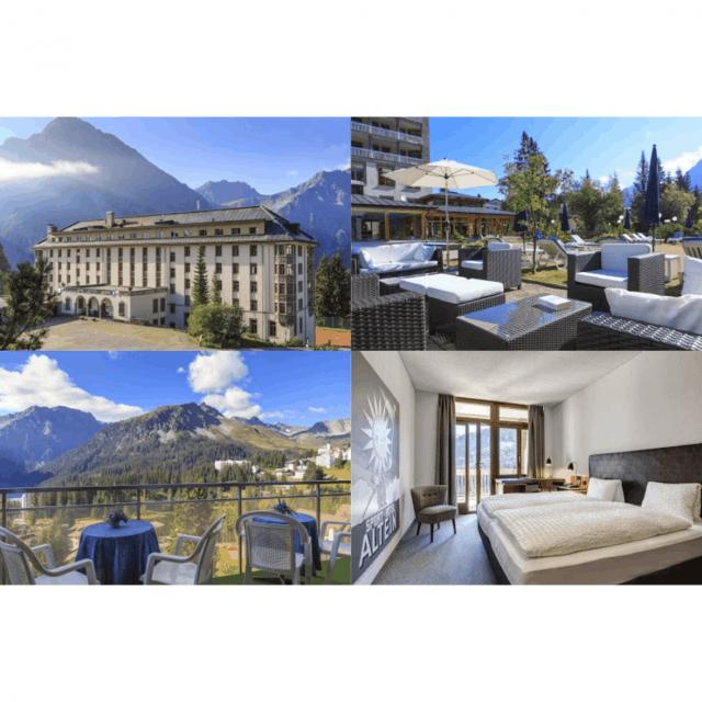 Swiss Contests - Vinci un soggiorno in 2x1 all\'Arenas Resort Altstein di  Arosa 2 notti per 2 persone! Questo prezzo, valido per due persone, includ  ...