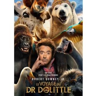 """Gagnez 50x2 billets pour l'avant-première du film """"LE VOYAGE DU Dr. DOLITTLE"""" dimanche 2 février à 10h, Pathé Flon à Lausanne!"""