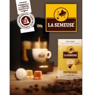 Gagnez 5x1 Machines à Café La Semeuse avec capsules compatibles DELIZIO!