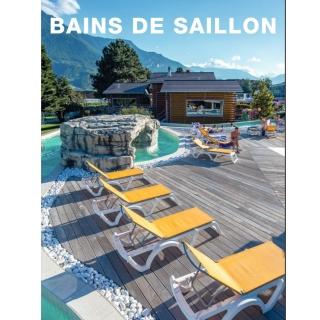 3 Séjours de luxe pour 2 personnes de CHF 500.- à gagner aux Bains de Saillon.