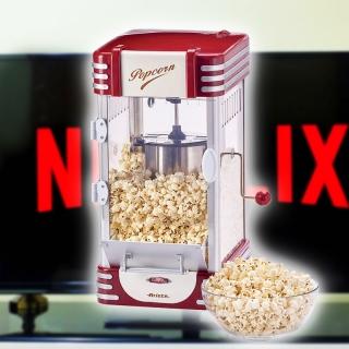 Facile de faire des popcorns maison pour suivre Netflix devant votre T avec cette machine vintage à gagner!