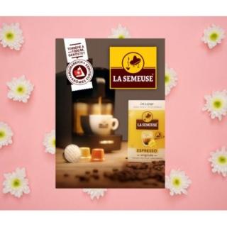 Gagnez 5x1 Machines à Café La Semeuse DELIZIO®* avec capsules compatibles!