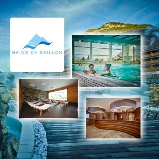 3x 1 Séjour de luxe pour 2 personnes aux Bains de Saillon!