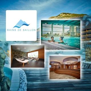 3 x 1 Séjour de luxe pour 2 personnes aux Bains de Saillon d'une valeur de CHF 500.- !