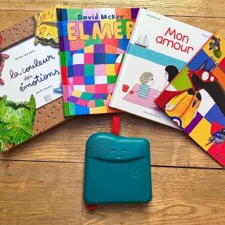 15 x 1 Bookinou®, conteuse pour enfant avec la voix des proches, d'une valeur de CHF 79.90.- !