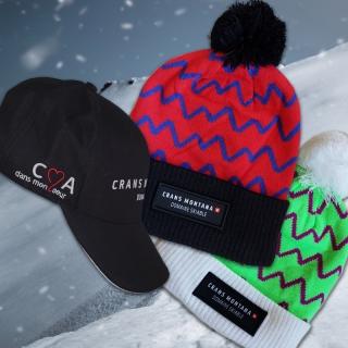 Gagne ton bonnet ou ta casquette Crans-Montana à l'occasion du lancement de leur Fanshop !
