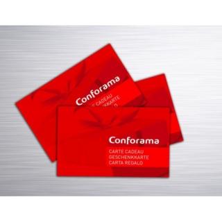 Gagnez 5 x 1 carte cadeau Conforama d'une valeur de CHF 250.- !