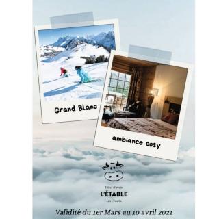 Gagnez 2 x 2 nuits à l'Hôtel L'Étable aux Crosets d'une valeur de CHF 600.- !