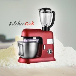 Ideal für alle Ihre Vorbereitungen! Gewinnen Sie Ihren KITCHENCOOK Expert XL Red 6.5L Multifunktions-Küchenroboter, im Wert von CHF 299.-!