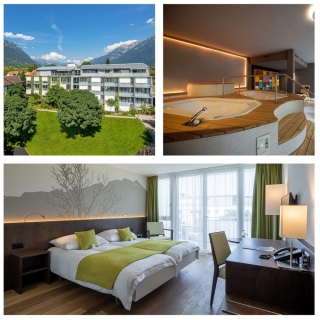 Gagnez un magnifique séjour pour 2 personnes en chambre double Premium à l'Hôtel Artos à Interlaken !