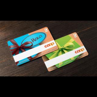 Dernier jour ! Faites vous plaisir ! Gagnez 2x1 carte cadeau COOP d'une valeur de CHF 100.- !