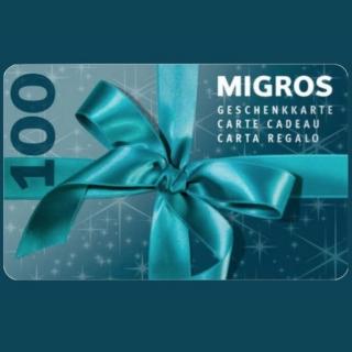 Ne laissez pas passer votre chance et gagnez une carte cadeau Migros de CHF 100.- !