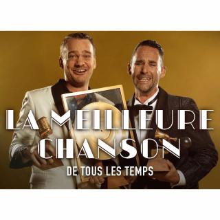 """À GAGNER 20X2 places pour le spectacle """"LA MEILLEURE CHANSON DE TOUS LES TEMPS"""" le 6 octobre au Théâtre de Beausobre !"""