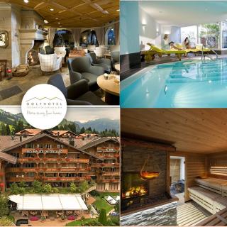 Gagnez 1 Séjour relaxant au GOLFHOTEL Les Hauts de Gstaad & SPA pour deux personnes d'une valeur de CHF 1000.- !